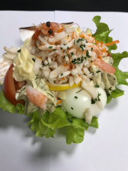 COUPELLE DE SURIMI MACEDOINE